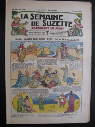 La Semaine de Suzette 21e année n°46 (1925) Nane