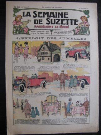 La Semaine de Suzette 21e année n°50 (1926) Mique et Trac