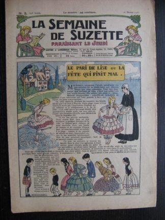 La Semaine de Suzette 22e année n°2 (1926) Bécassine