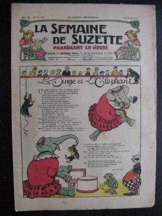 La Semaine de Suzette 22e année n°3 (1926) Bécassine Tiennette