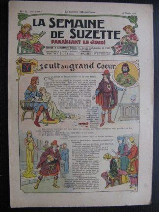 La Semaine de Suzette 22e année n°4 (1926) Bécassine Bleuette