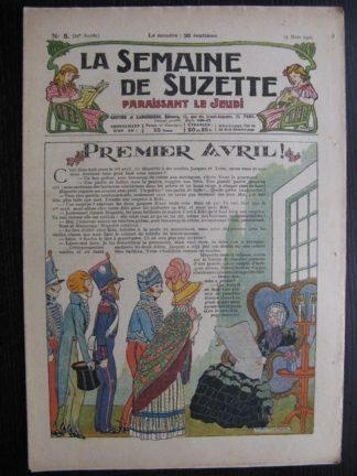La Semaine de Suzette 22e année n°8 (1926) Bécassine