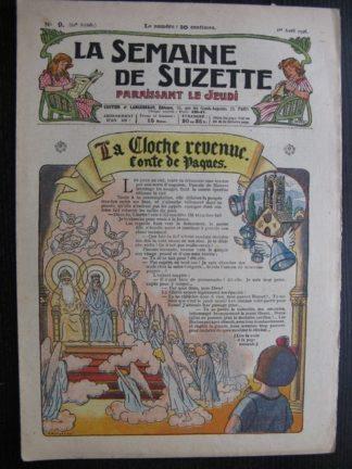 La Semaine de Suzette 22e année n°9 (1926) Bécassine