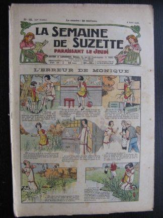 La Semaine de Suzette 22e année n°10 (1926) Bécassine