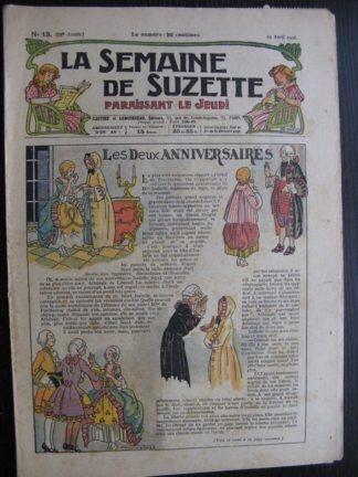 La Semaine de Suzette 22e année n°13 (1926) Bécassine