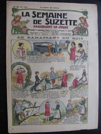 La Semaine de Suzette 22e année n°18 (1926) Bécassine Bleuette