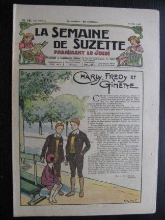 La Semaine de Suzette 22e année n°19 (1926) Bécassine