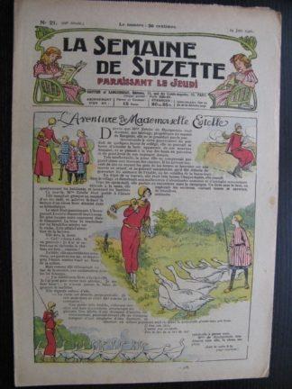 La Semaine de Suzette 22e année n°21 (1926) Bécassine