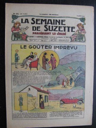 La Semaine de Suzette 22e année n°23 (1926) Bécassine Bleuette