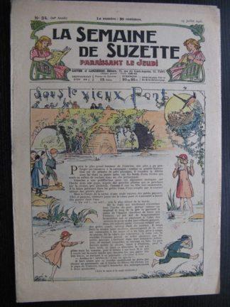 La Semaine de Suzette 22e année n°24 (1926) Bécassine Bleuette