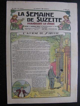 La Semaine de Suzette 22e année n°27 (1926) Bécassine