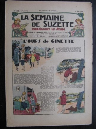 La Semaine de Suzette 22e année n°30 (1926) Bécassine