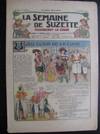 La Semaine de Suzette 22e année n°31 (1926) Au clair de la lune