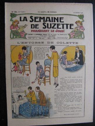 La Semaine de Suzette 22e année n°39 (1926) Nane au Maroc (7) Bleuette