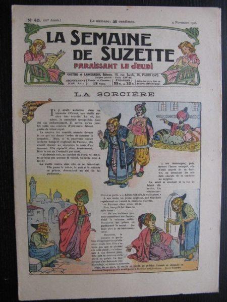 La Semaine de Suzette 22e année n°40 (1926) Nane au Maroc (7)