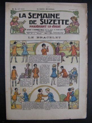 La Semaine de Suzette 23e année n°2 (13/01/1927) Bleuette Bécassine