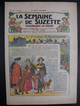 La Semaine de Suzette 23e année n°5 (3/02/1927) Bécassine Bleuette
