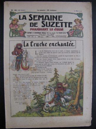 La Semaine de Suzette 23e année n°10 (10/03/1927) Bécassine