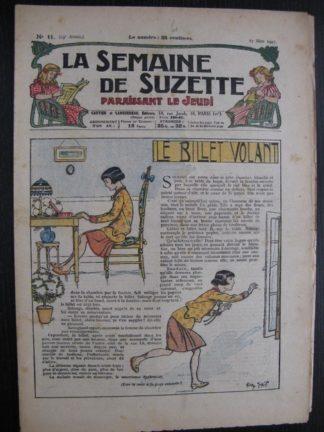 La Semaine de Suzette 23e année n°11 (17/03/1927) Bécassine Bleuette