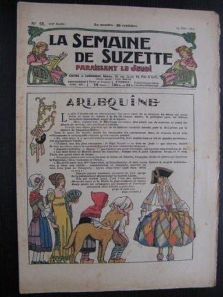 La Semaine de Suzette 23e année n°12 (24/03/1927) Bécassine