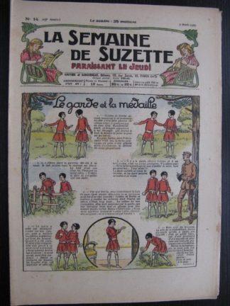 La Semaine de Suzette 23e année n°14 (7/04/1927) Bécassine