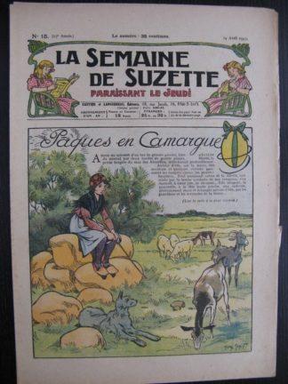 La Semaine de Suzette 23e année n°15 (14/04/1927) Bécassine
