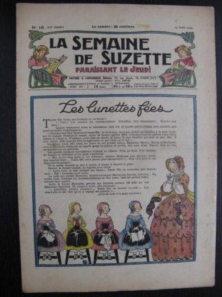 La Semaine de Suzette 23e année n°16 (21/04/1927) Bécassine Bleuette
