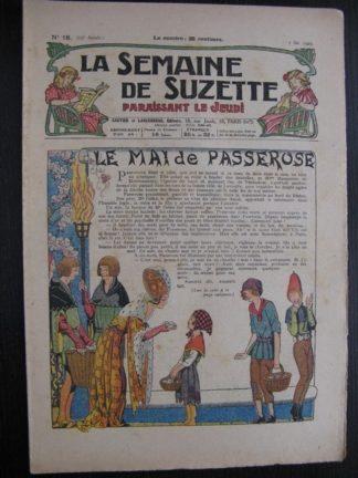 La Semaine de Suzette 23e année n°18 (5/05/1927) Bécassine Bleuette