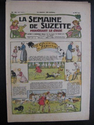 La Semaine de Suzette 23e année n°19 (12/05/1927) Bécassine