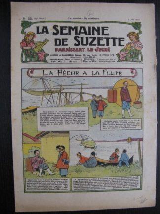 La Semaine de Suzette 23e année n°22 (2/06/1927) Bécassine Bleuette