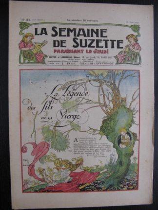 La Semaine de Suzette 23e année n°24 (16/06/1927) Bécassine Bleuette