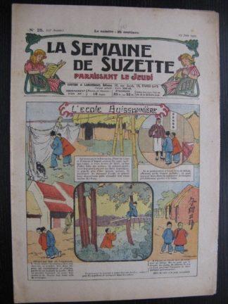 La Semaine de Suzette 23e année n°25 (23/06/1927) Bécassine