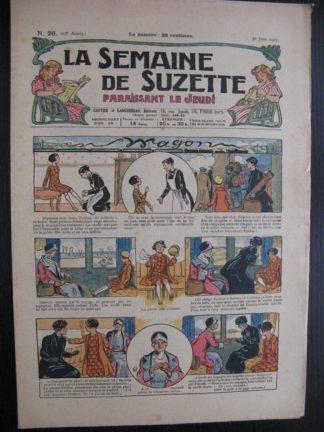 La Semaine de Suzette 23e année n°26 (30/06/1927) Bécassine Bleuette
