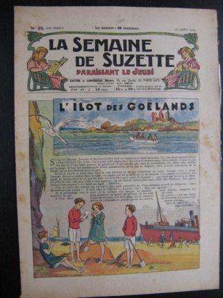 La Semaine de Suzette 23e année n°29 (21/07/1927) Bécassine