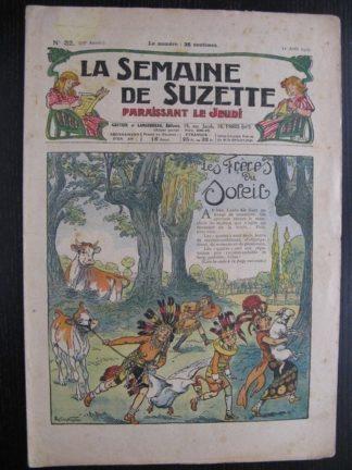La Semaine de Suzette 23e année n°31 (4/08/1927) Bécassine Bleuette