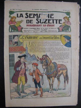 La Semaine de Suzette 23e année n°33 (18/08/1927) Bleuette