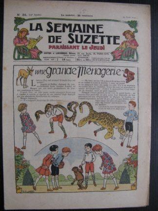 La Semaine de Suzette 23e année n°34 (25/08/1927)