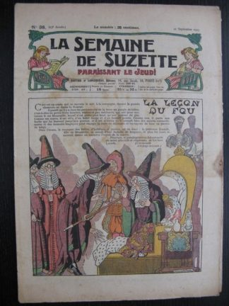 La Semaine de Suzette 23e année n°38 (22/09/1927) Houndji-Poundji (4) Bleuette