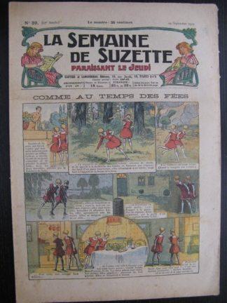 La Semaine de Suzette 23e année n°39 (29/09/1927) Houndji-Poundji (5) Bleuette