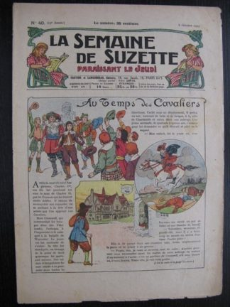 La Semaine de Suzette 23e année n°40 (6/10/1927) Houndji-Poundji (6) Bleuette