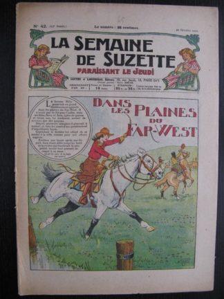 La Semaine de Suzette 23e année n°42 (20/10/1927) Houndji-Poundji (7)