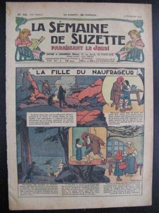La Semaine de Suzette 23e année n°44 (3/11/1927) Houndji-Poundji (9)