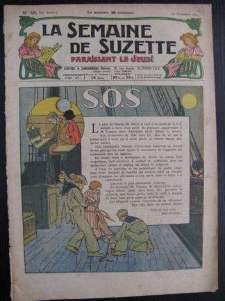 La Semaine de Suzette 23e année n°46 (17/11/1927) Houndji-Poundji (12)