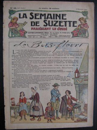 La Semaine de Suzette 23e année n°49 (8/12/1927) Bleuette