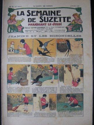 La Semaine de Suzette 24e année n°5 (2/02/1928) Bécassine