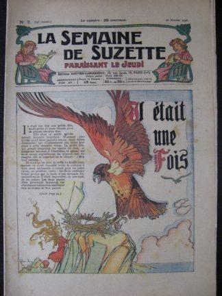 La Semaine de Suzette 24e année n°7 (16/02/1928) Bécassine