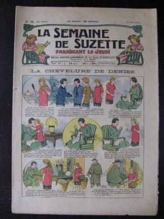 La Semaine de Suzette 24e année n°13 (29/03/1928) Bécassine Bleuette