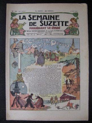 La Semaine de Suzette 24e année n°14 (5/04/1928) Bécassine