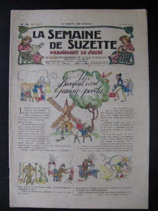La Semaine de Suzette 24e année n°15 (12/04/1928) Bécassine Bleuette