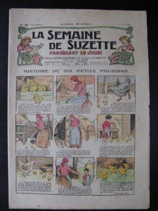 La Semaine de Suzette 24e année n°16 (19/04/1928) Bécassine Bleuette